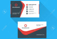Corporate Business Card Print Template. Personal Visiting Card.. throughout Free Personal Business Card Templates
