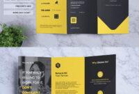 Corporate Business Tri-Fold Brochure Template Psd, Ai, Eps within 3 Fold Brochure Template Psd