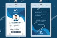 Corporate Id Card Design Template Id#corporate#card#template within Company Id Card Design Template
