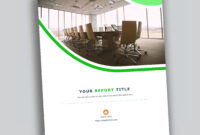Corporate Report Design Template In Microsoft Word – Used To Inside It Report Template For Word