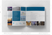 Corporate Square 12 Page Brochure | Design: Layout with 12 Page Brochure Template