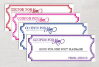 Coupon Template Word | Template Business with Blank Coupon Template Printable