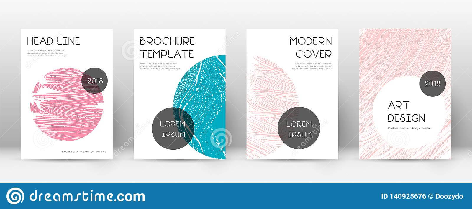 Cover Page Design Template. Trendy Brochure Layout Stock for Fancy Brochure Templates