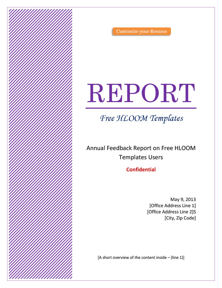 Cover Page For Report Template - Atlantaauctionco regarding Cover Page Of Report Template In Word