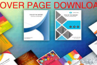 Cover Page In Word Template – Download Editable, Ready To in Word Title Page Templates