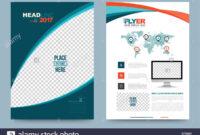 Cover Template Design For Business Annual Report Flyer regarding Illustrator Report Templates