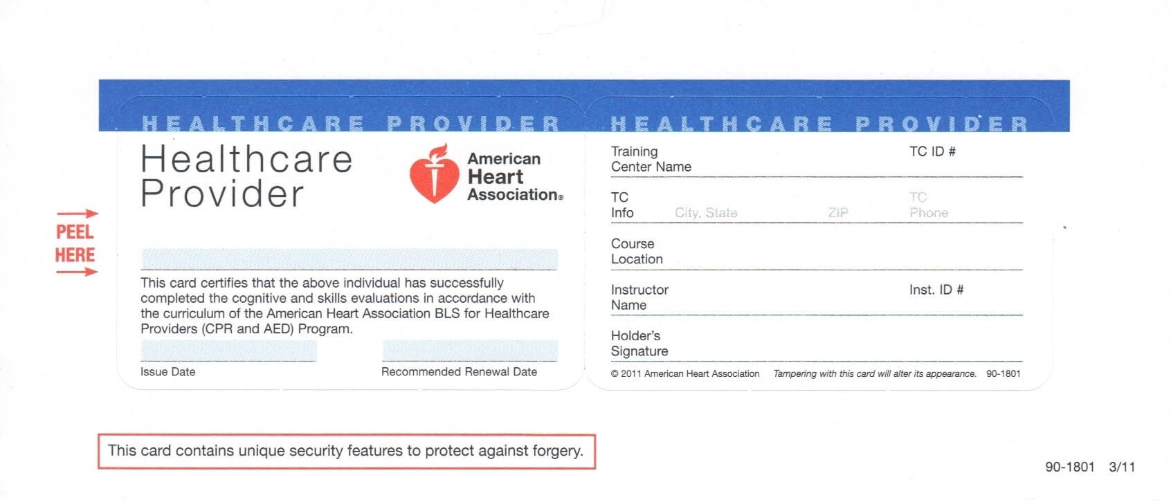 Cpr Card Template – Cumed With Regard To Cpr Card Template