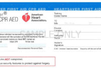 Cpr Card Template | Doyadoyasamos throughout Cpr Card Template