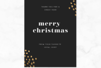 Craft The Perfect Christmas Card Messages | Picmonkey with Holiday Card Email Template