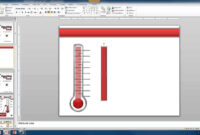 Create A Custom Thermometer pertaining to Powerpoint Thermometer Template