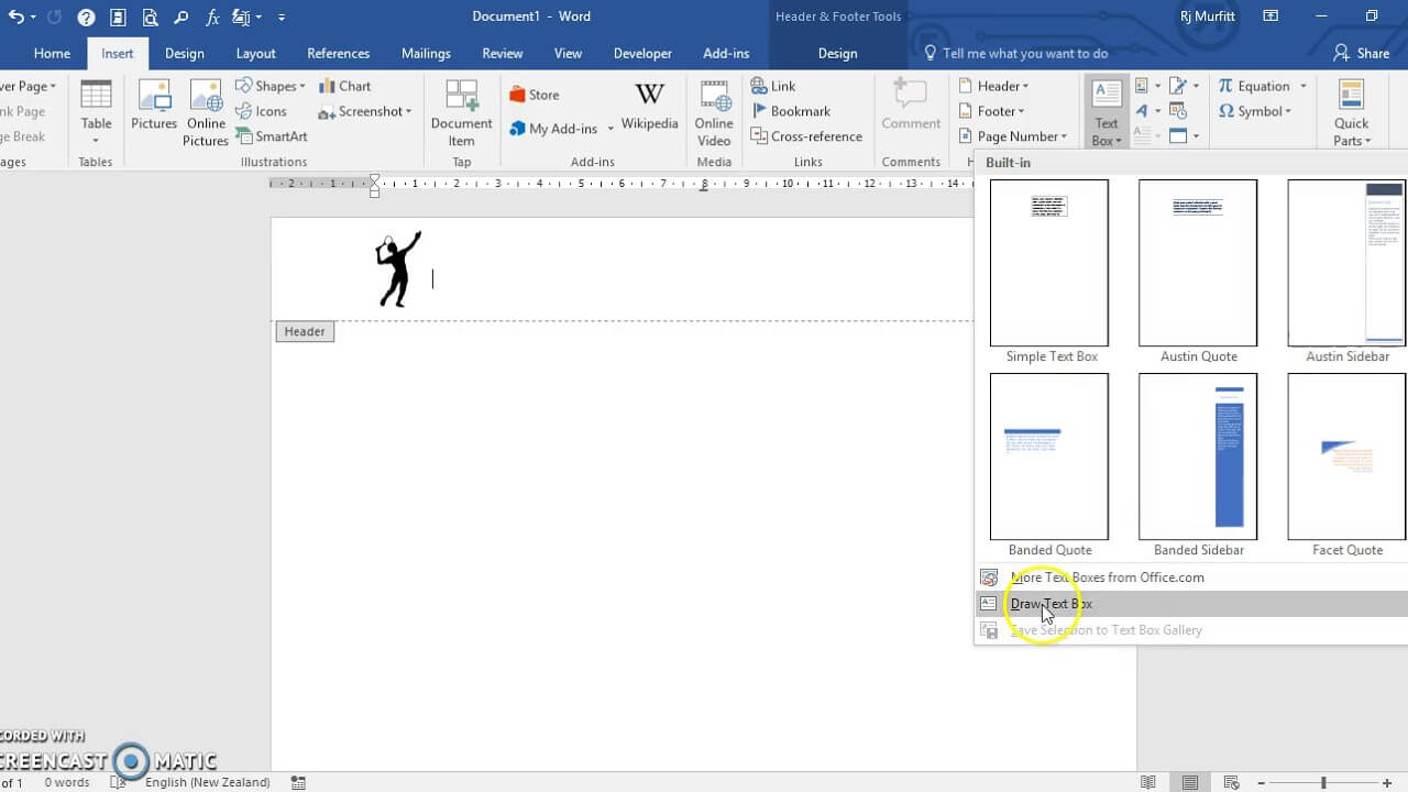 Create A Letterhead Template In Microsoft Word 2016 With How To Create A Letterhead Template In Word