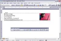Create A Letterhead Template In Microsoft Word – Cnet regarding How To Create A Letterhead Template In Word