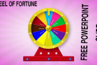 Create A Wheel Of Fortune Slide In Powerpoint for Wheel Of Fortune Powerpoint Template