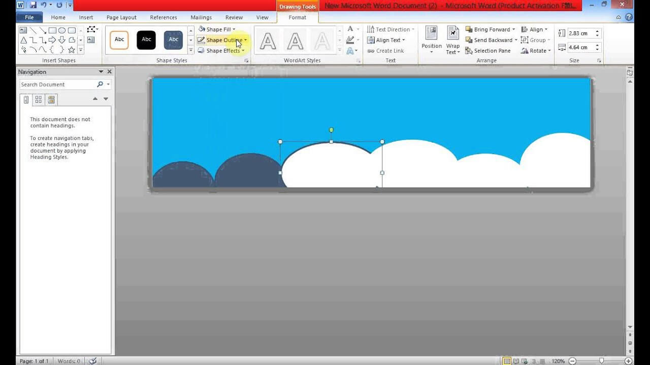Create Banner Using Ms Word In Microsoft Word Banner Template