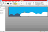 Create Banner Using Ms Word with Banner Template Word 2010