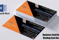 Create Business Card Template In Word   Creative-Atoms with regard to Business Card Template Word 2010