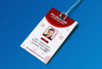 Create Professional Id Card Template – Photoshop Tutorial in Employee Card Template Word