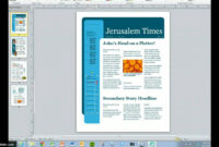 Create Your Magazine Content Within Magazine Ad Template regarding Magazine Ad Template Word