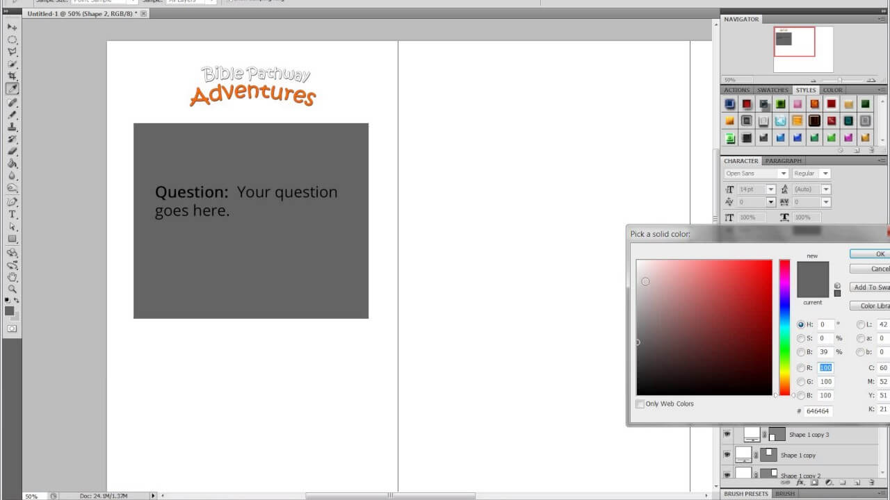 Creating A Flash Card Template In Photoshop For Biblepathwayadventures Pt1 In Queue Cards Template