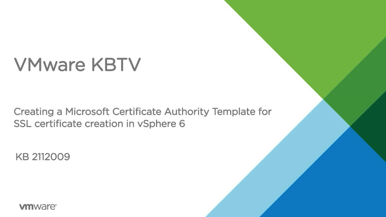 Creating A Microsoft Certificate Authority Template For Ssl Intended For Certificate Authority Templates