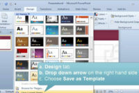 Creating And Setting A Default Template Or Theme In Powerpoint pertaining to Save Powerpoint Template As Theme