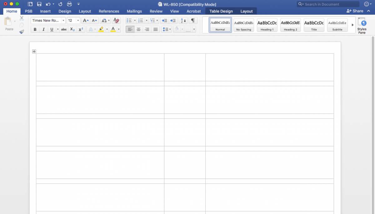 Creating File Folder Labels In Microsoft Word In Microsoft Word Sticker Label Template