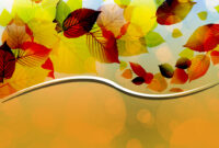 Creative Autumn Leaves Vector Backgrounds For Powerpoint within Free Fall Powerpoint Templates