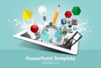 Creative Design Powerpoint Template in Multimedia Powerpoint Templates