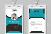 Creative Employee Id Card Template intended for Work Id Card Template