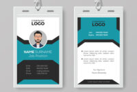 Creative Employee Id Card Template regarding Template For Id Card Free Download