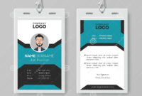 Creative Employee Id Card Template Stock Vector in Pvc Id Card Template