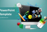 Creative Web Design Powerpoint Template within Multimedia Powerpoint Templates