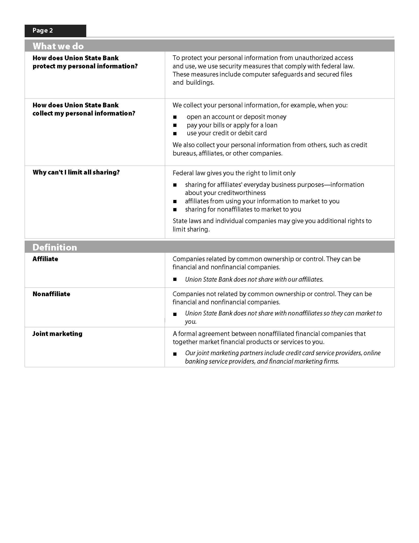 Credit Card Security Policy Template - Laste.foreversammi ...