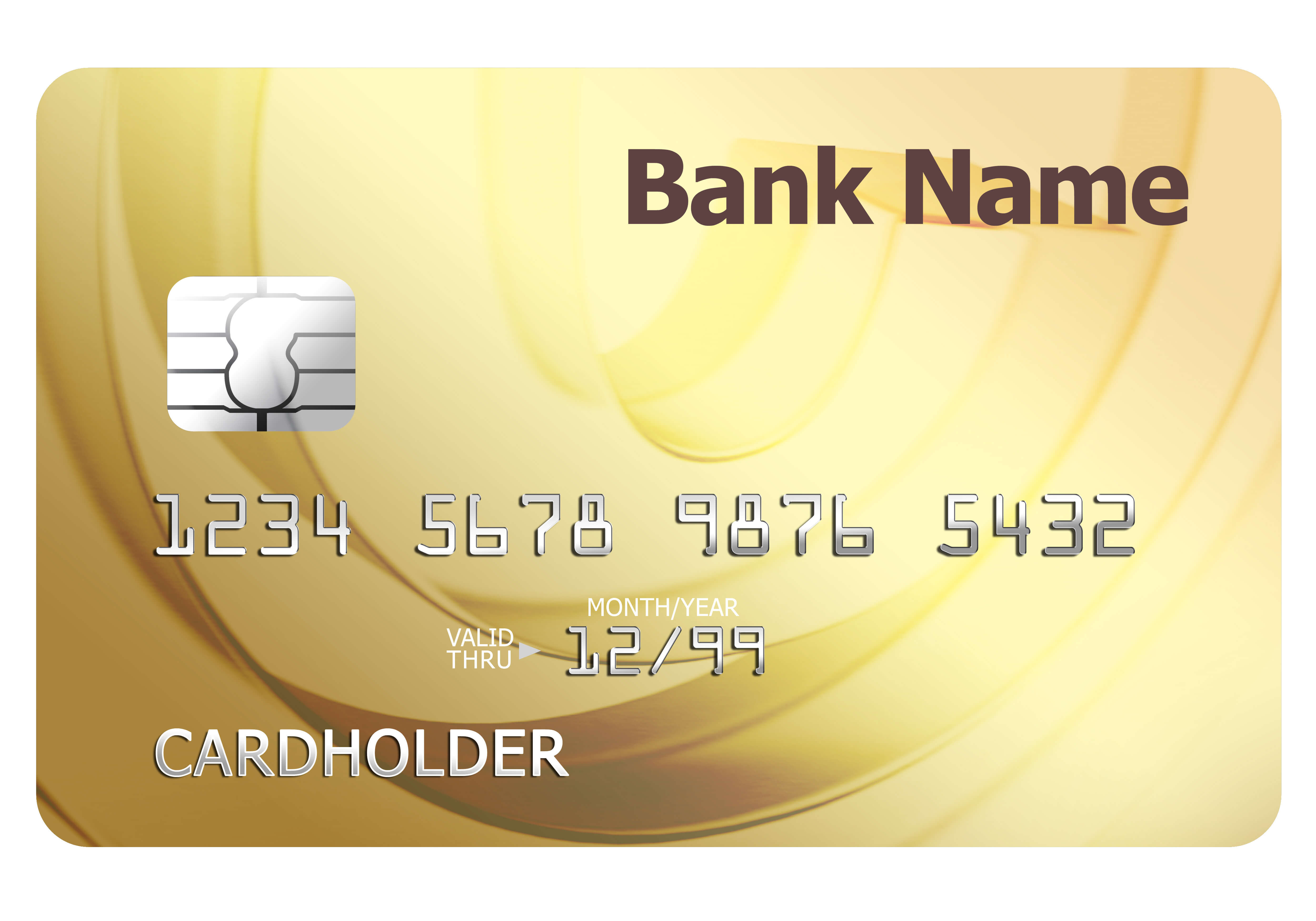 Credit Card Template | Psdgraphics in Credit Card Template For Kids