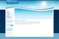 Curvy And Clean Travel Template – Html intended for Blank Html Templates Free Download