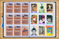 Custom Baseball Cards – Retro 75™ Series Starr Cards with Custom Baseball Cards Template