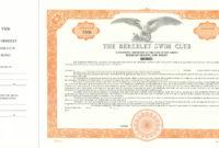 Custom Bond Certificate – Goes #850Or – Corporate Publishing inside Corporate Bond Certificate Template