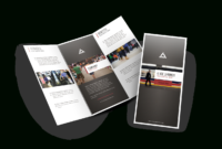 Custom Brochure Printing (A4 & A5 & Dle Size ) regarding E Brochure Design Templates