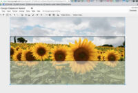 Custom Google Classroom Banner Using Google Drawings with regard to Classroom Banner Template
