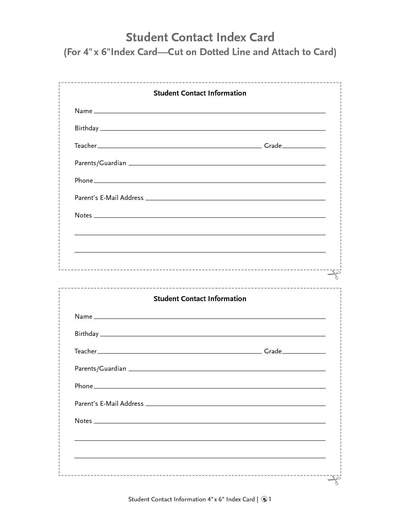 Customer Information Card Template - Atlantaauctionco Inside Customer Information Card Template