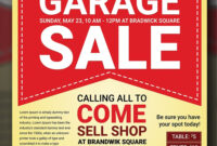 Customize 580 Garage Sale Flyer Templates Postermywall Water within Garage Sale Flyer Template Word