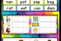 Cvc Words Activities | Education | Cvc Words, Making Words in Making Words Template