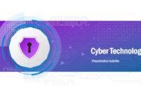Cyber Technology Powerpoint Template inside High Tech Powerpoint Template