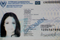 Cypriot Identity Card – Wikipedia with regard to Georgia Id Card Template