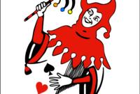 جوكر (بطاقة لعب) – ويكيبيديا throughout Joker Card Template