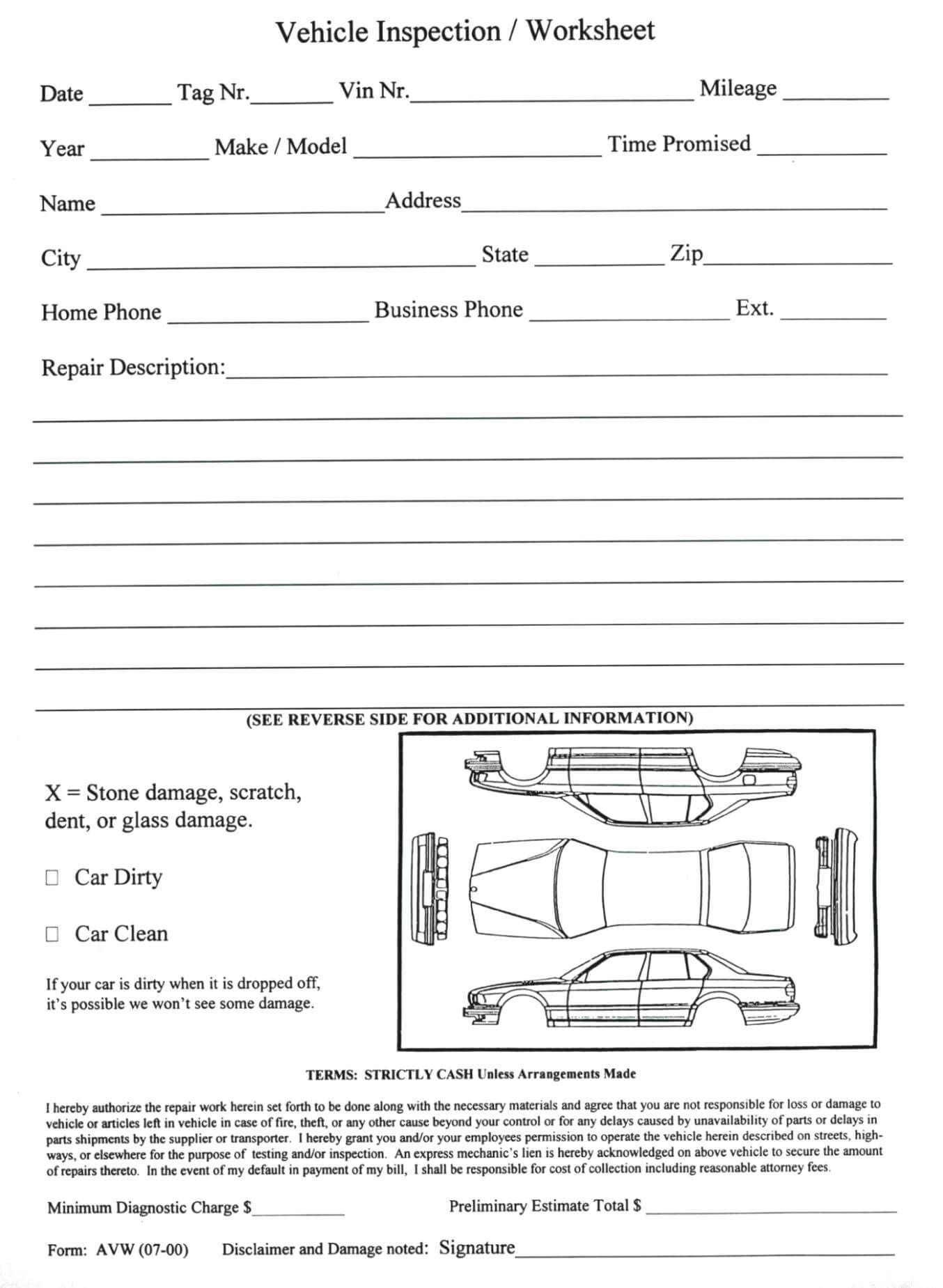 Damage Report Template – Wovensheet.co Pertaining To Car Damage Report Template