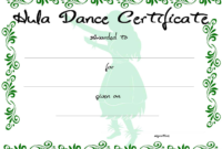 Dance Certificate | Templates At Allbusinesstemplates with regard to Dance Certificate Template