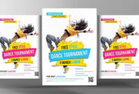 Dance Flyers – Major.magdalene-Project within Dance Flyer Template Word