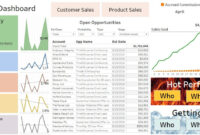 Dashboard And Report Samples For Sales inside Sales Rep Visit Report Template