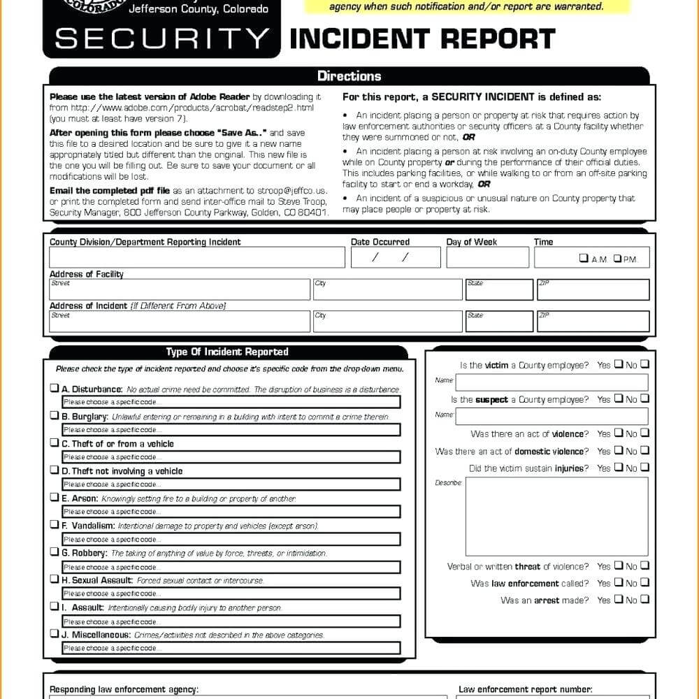 Data Breach Report Template – Wepage.co regarding Computer Incident Report Template